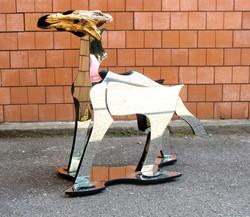 faccia di cane - 2009 -H120 L40 P130