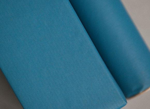 Бумага крафт голубая