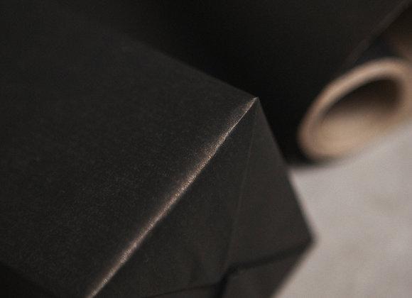 Бумага крафт чёрная