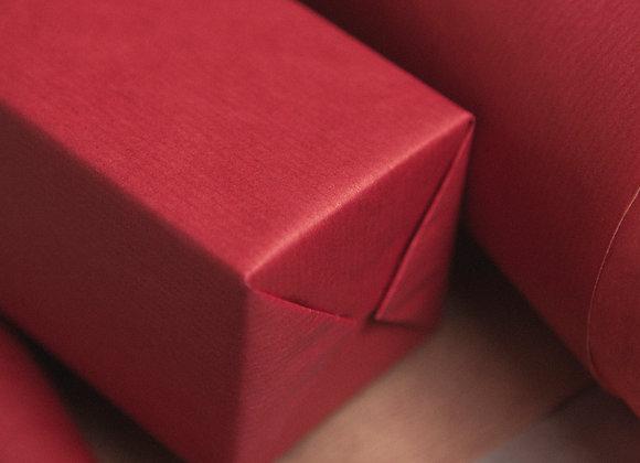 Бумага крафт красная
