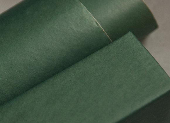 Бумага крафт тёмно-зелёная