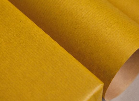 Бумага крафт жёлтая