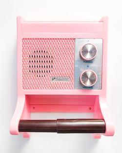 Retro Restroom Radio