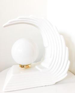 Art Deco Wave Lamp