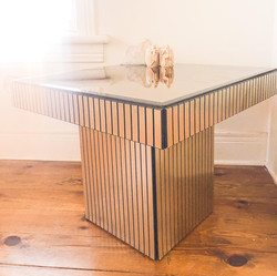 Art Deco Reflective Table