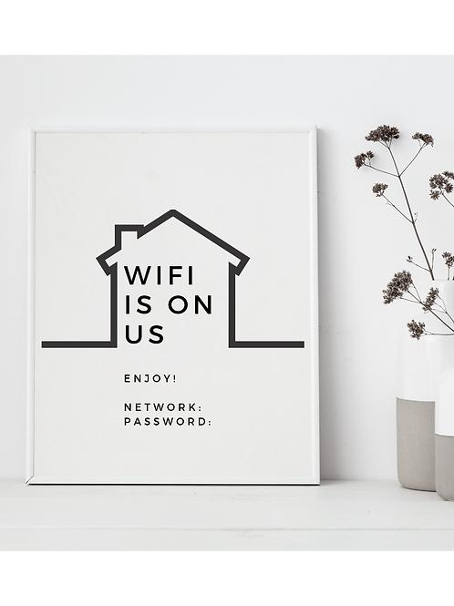 Wifi Is On Us, Enjoy
