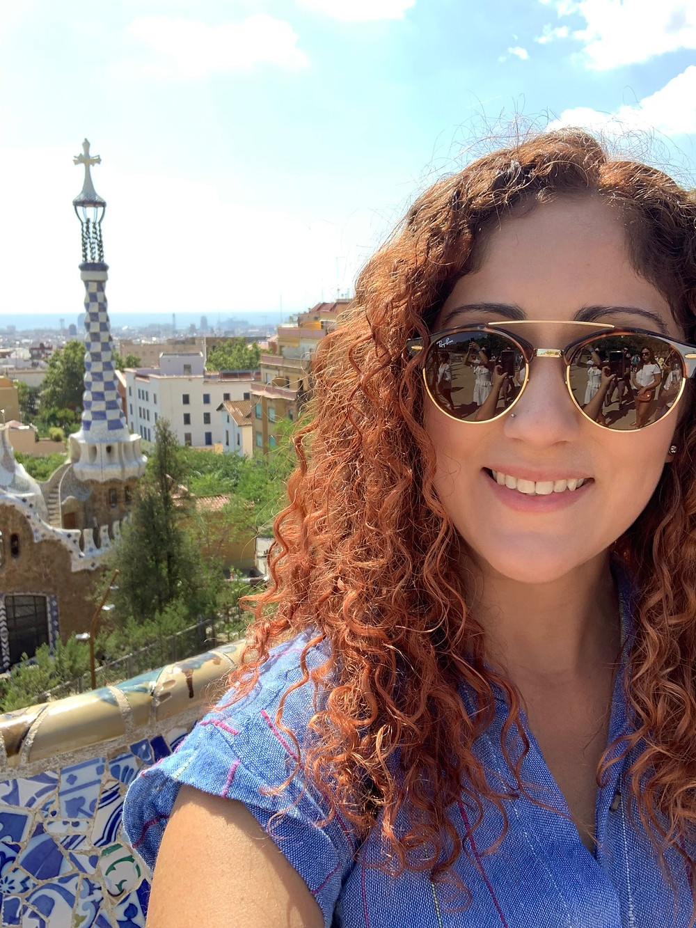 Park Güell, Barcelona trip, stayed in Airbnb, center of the city
