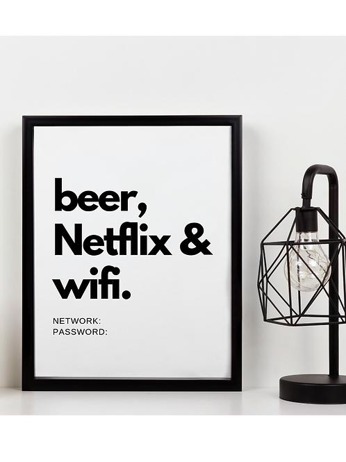 Beer, Netflix & Wifi