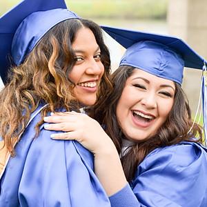 Kayla and Amy Graduation