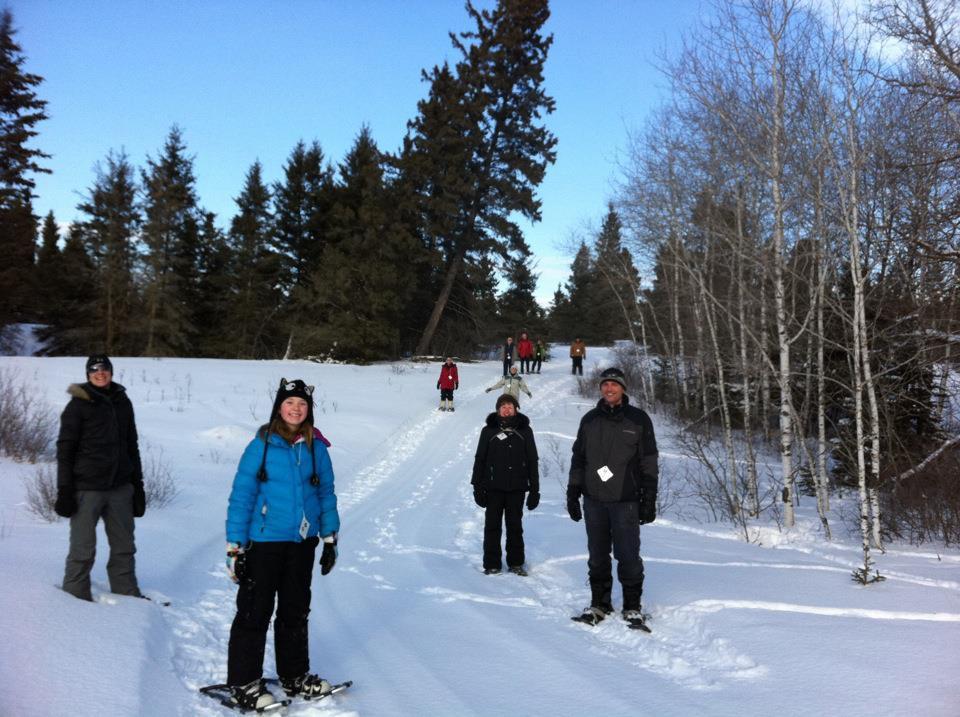 Guided Snowshoe Trek