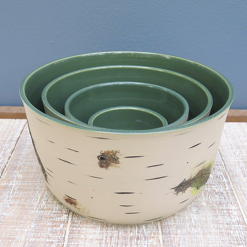 Green Mixing Bowl Set