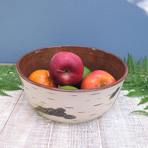 Birch Bowl - Brown D