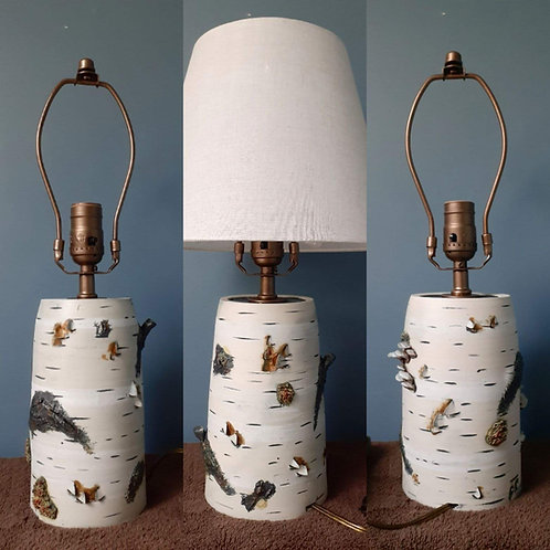 Birch Table Lamp - MADE TO ORDER