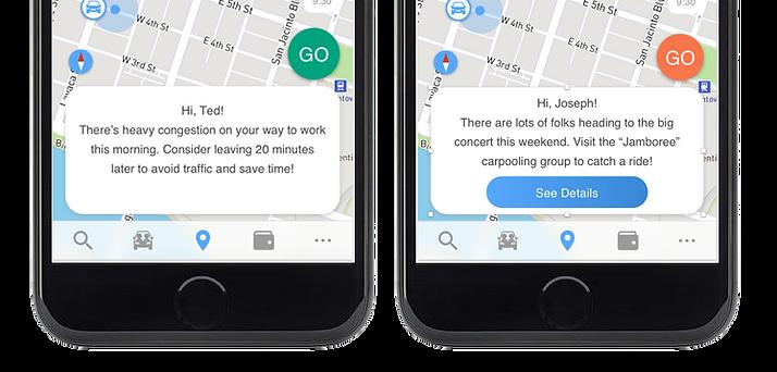 GoEzy app commuter behavior management