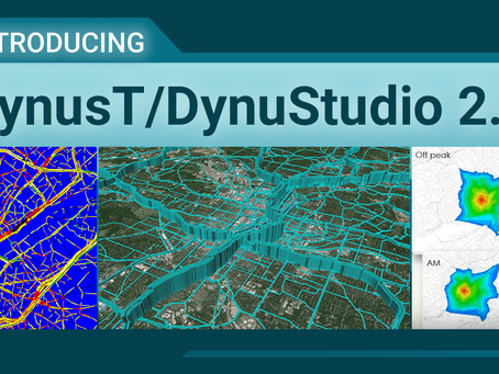 What's New In DynusT/DynuStudio V2.0?