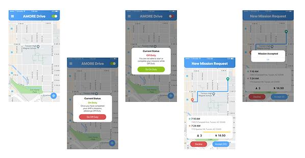 Transit Hailing driver app
