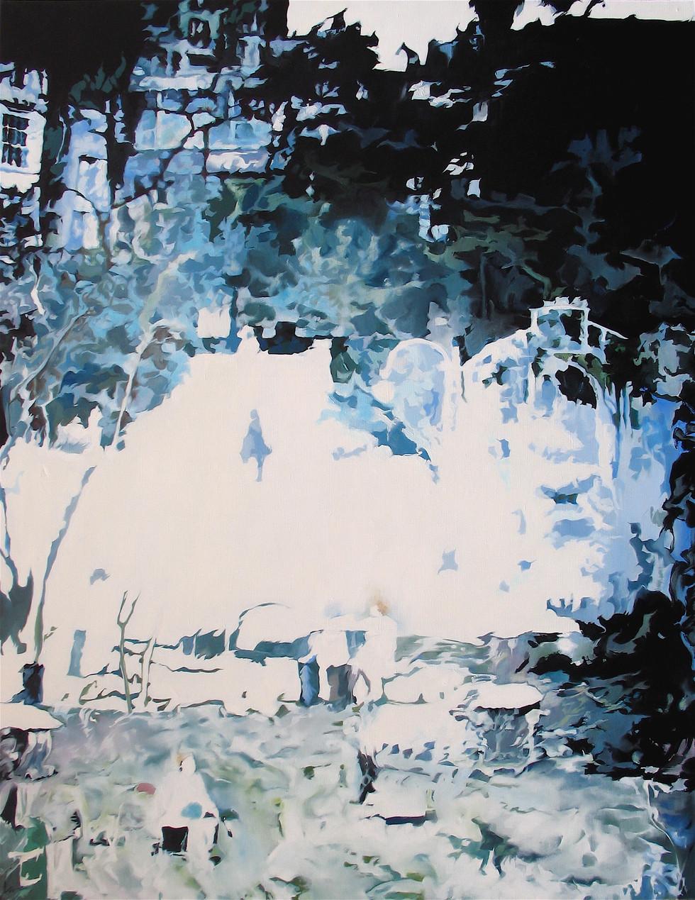 Plein Jour, huile sur toile, 114 x 145 c