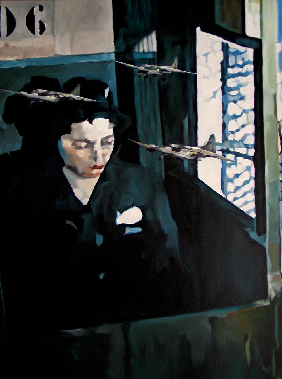 Persona, huile sur toile, 80 x 60 cm, 2010 (collection particulière Paris)