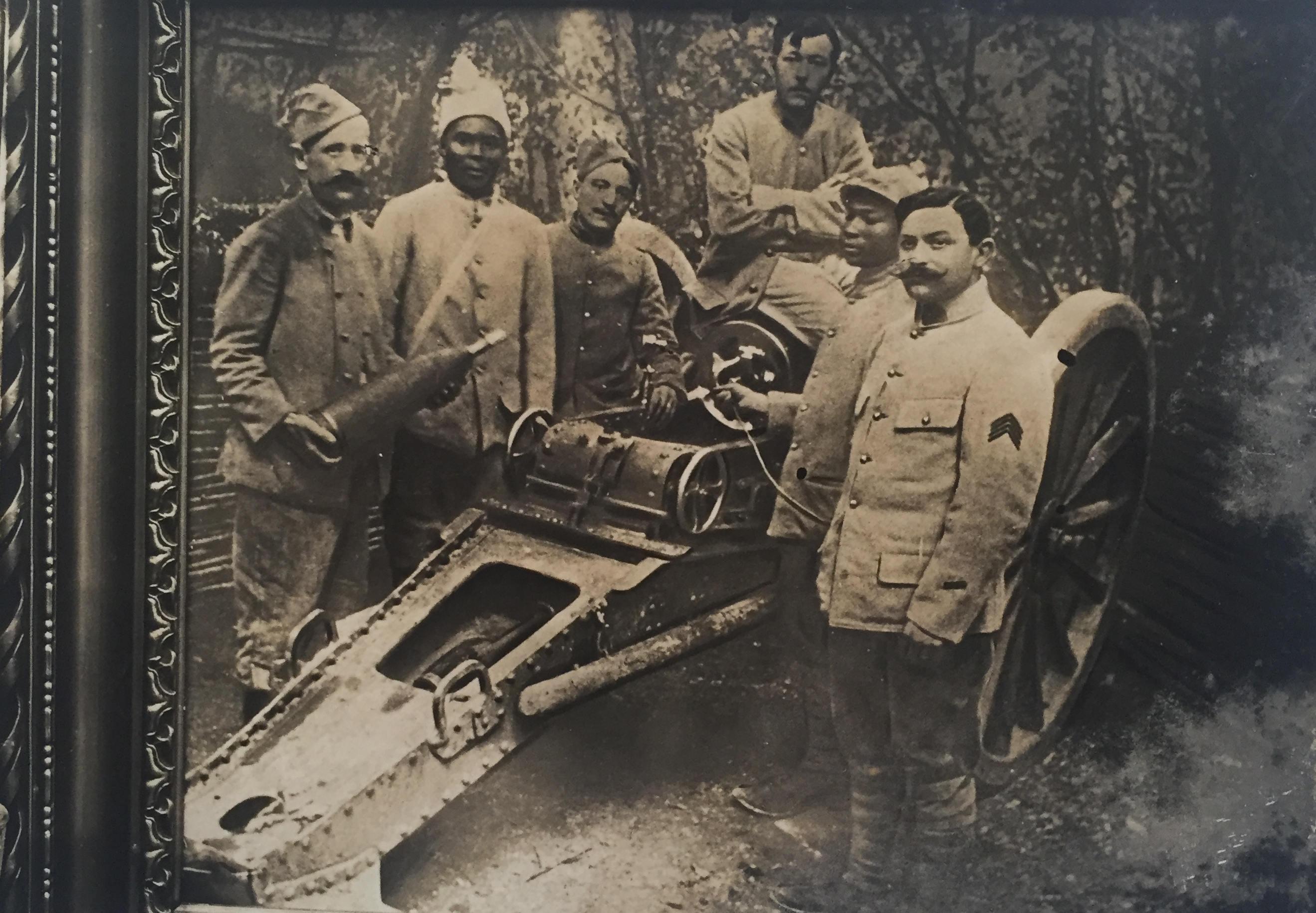 Jean Bermond sur le front turc