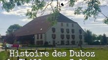 Histoire des Duboz de Chilly sur Salins
