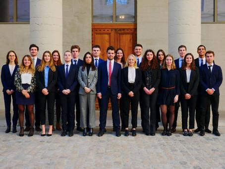 Signature d'un partenariat avec la Junior Entreprise de emlyon business school