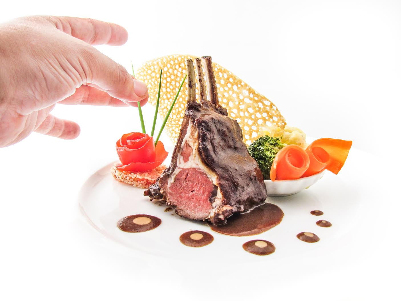 Best rack of lamb by L'Annexe French restaurant in Siem reap.jpg