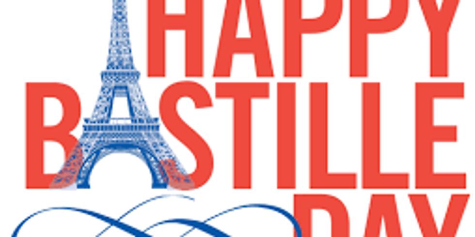 BASTILLE DAY JULY 14TH at L'Annexe French Restaurant