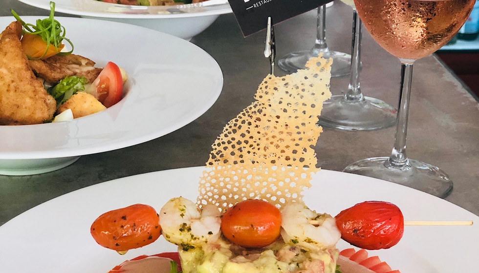 Avocado salad / Salade d'avocat