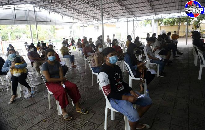 Cambodia's Vaccination Coverage Reach Nearly 23%
