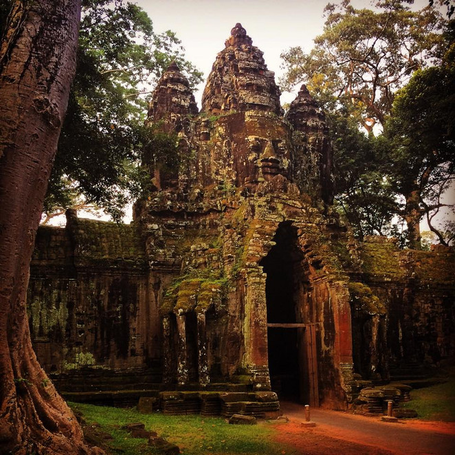 The temples of Siem reap - Cambodia