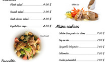 15 $ only The french Lunch menu in Siem Reap at L'Annexe