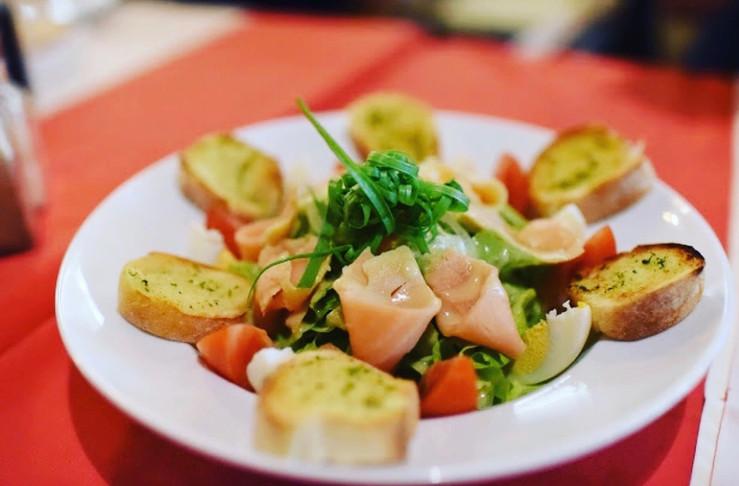 Norvegian salad by L'Annexe French restaurant Siem reap.jpg