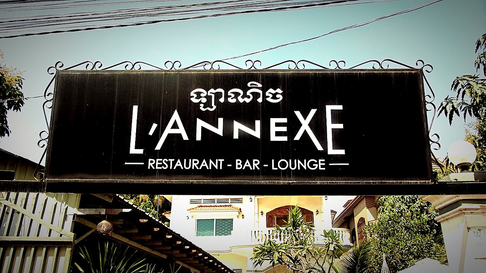 L'Annexe one of the best french restaurant in siem reap