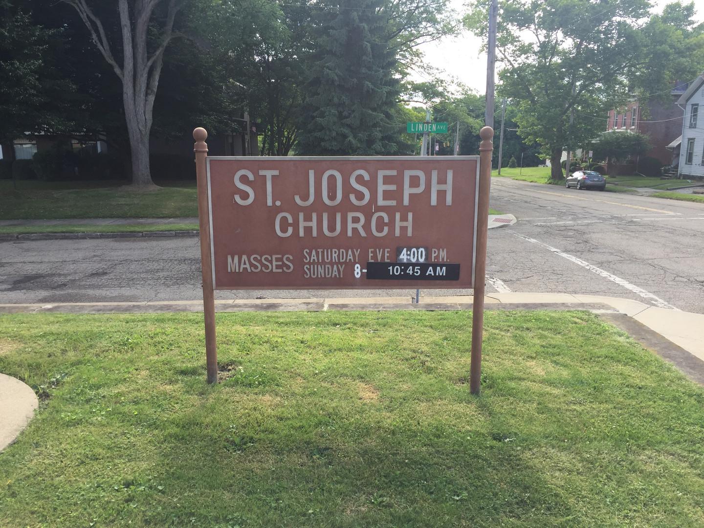 Church Sign_Zumbar Eagle Scout