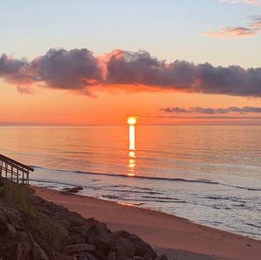 Beautiful north shore sunsets