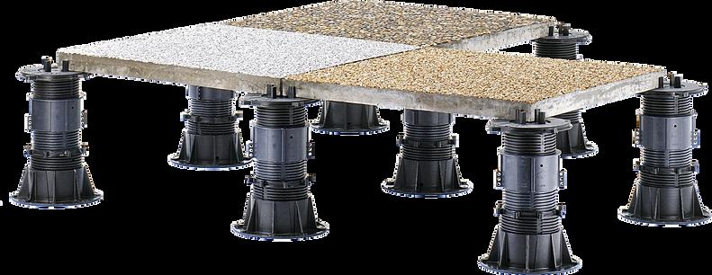 buzon pedestals for raised floors terraces pool deck water features. Black Bedroom Furniture Sets. Home Design Ideas