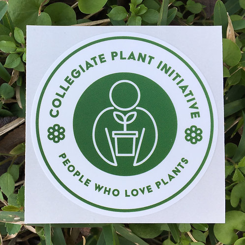 Collegiate Plant Initiative Logo Sticker