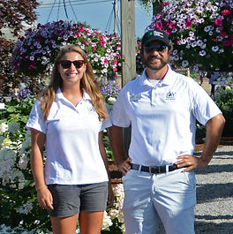 Tessa and Adam Mosely proven winners pleasant view gardens internship