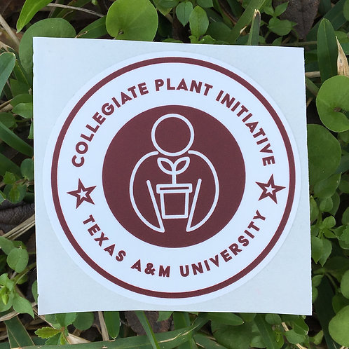 Texas A&M University Chapter Sticker