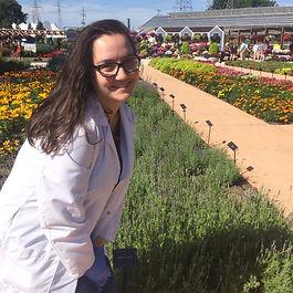 Sam Samantha Nuzzi Ball Horticulture UF student fragrance flavor chemistry