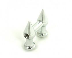 8G) Spike Brass Tube Lug Mini