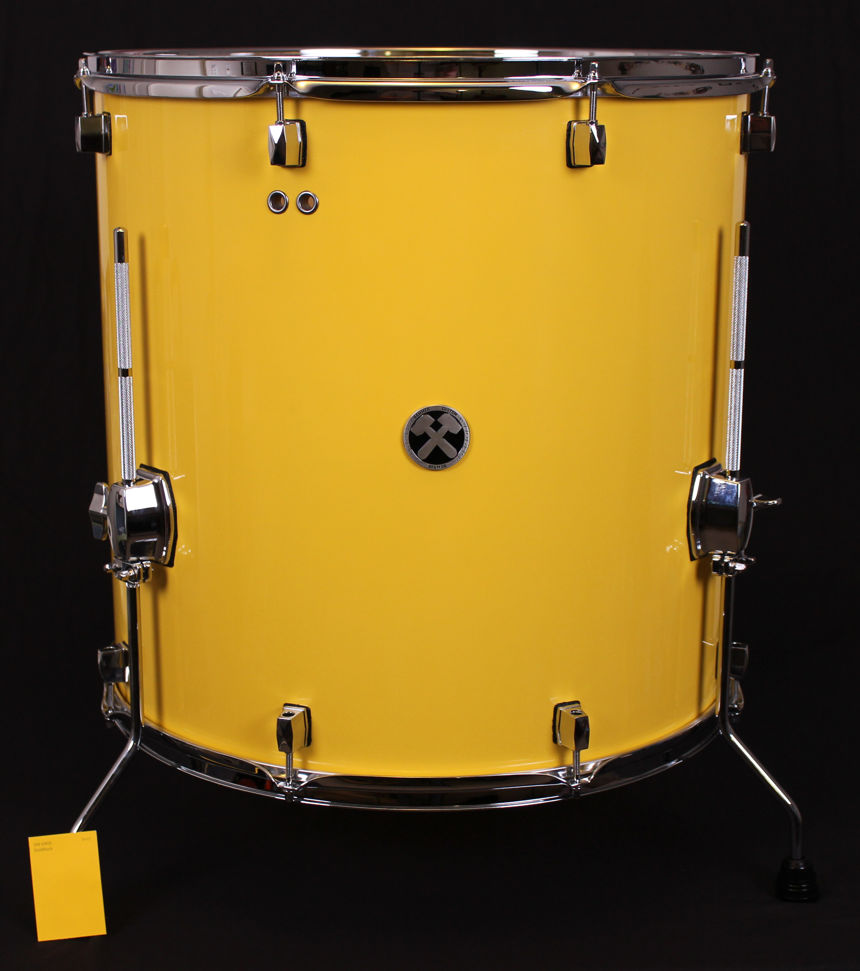 20x20 Big Yellow Drum Table