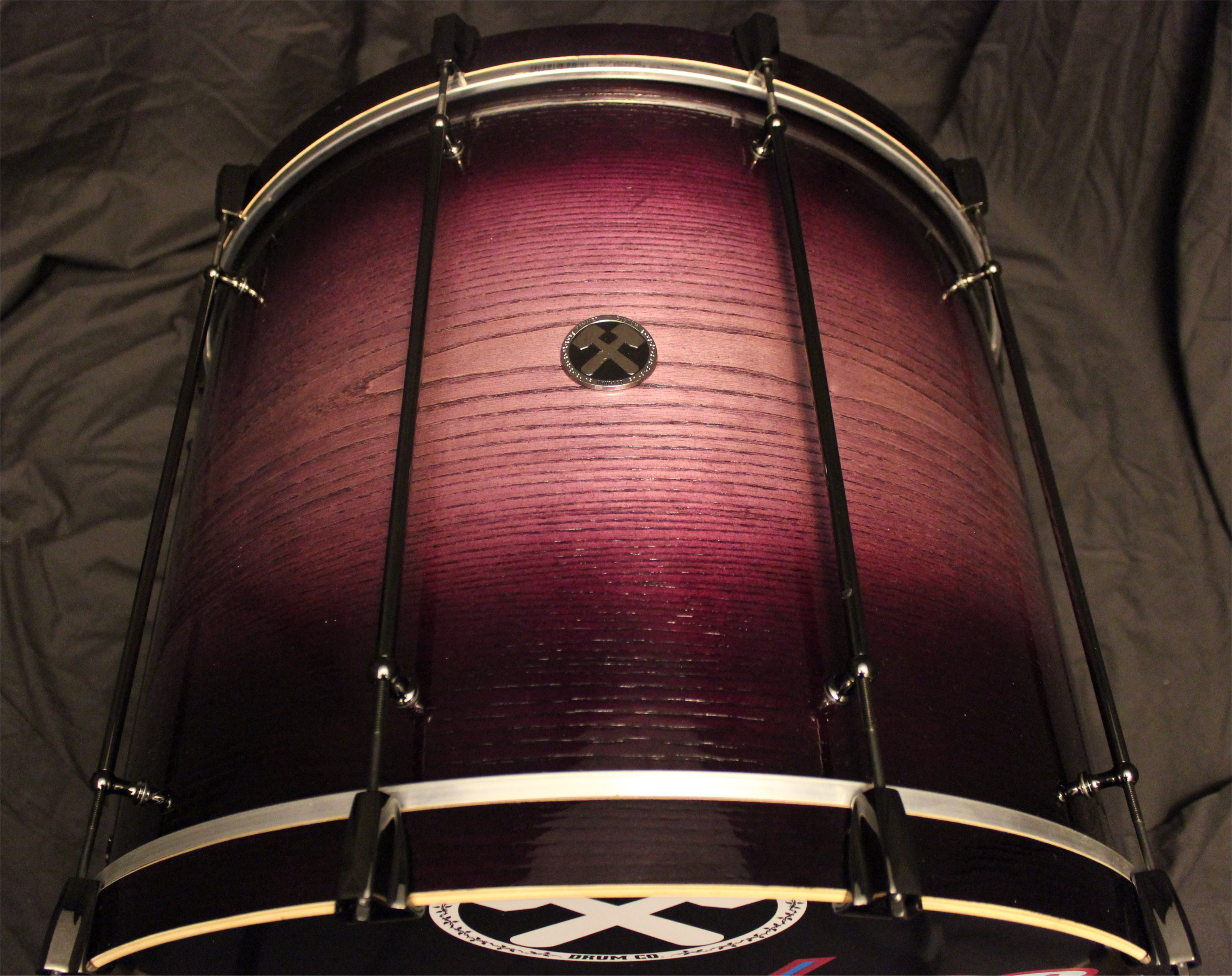 8 ply Maple Purple Burst