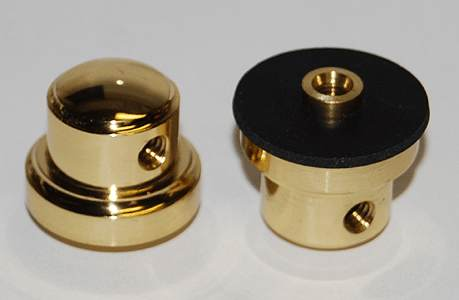 18C) Single Point Tubeless Brass