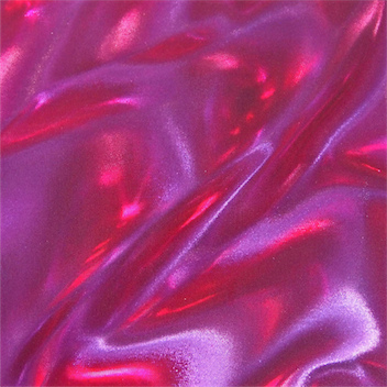 RED PURPLE SATIN FLAME