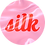 Thumbnail: Pink Silk Sticker