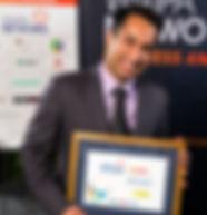 Neeraj with Empoyee of the Year Award