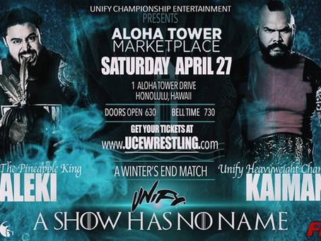 Aleki vs Kaimana at A Show Has No Name