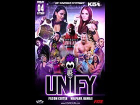 UNIFY October 4th Show & TV Taping
