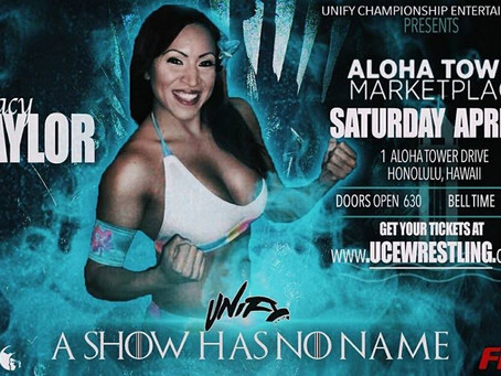 Tracy Taylor UCE Debut at A Show Has No Name